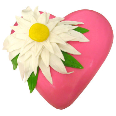 Narozeninový dort růžové srdce - Narozeninové dorty pro Vás