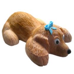 Dětský dort ve tvaru psa