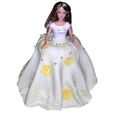 Narozeninový dort Barbie 3 - Dětské dorty pro Vás