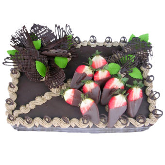 Čokoládový dort - Narozeninové dorty Praha