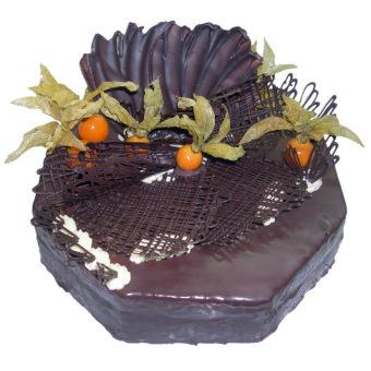 Čokoládový šestihran - Narozeninové dorty Praha