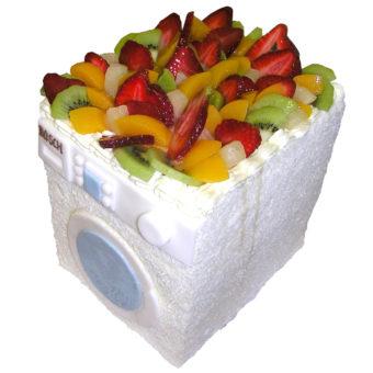 Ovocný dort Pračka - Ovocné dorty Praha