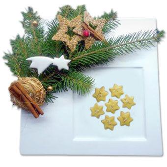 Kokosová hvězda - vánoční cukroví prodej Praha