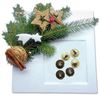 Košíčky - kokosové, ořechové a pařížské - vánoční cukroví prodej Praha