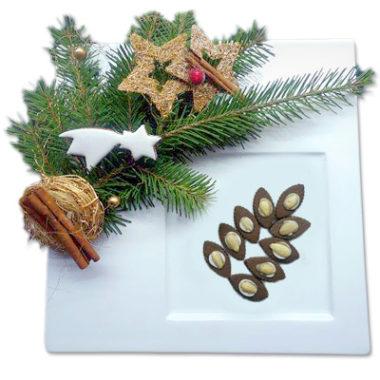 Lísteček s mandlí - vánoční cukroví prodej Praha