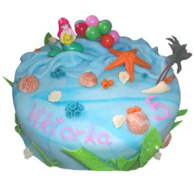 Dětský dort sAriel - dětské dorty Praha
