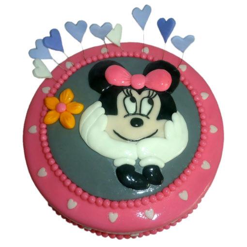 Dětský dort s Minnie - dětské dorty Praha