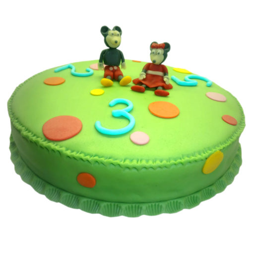 Dětský dort Myšky - dětské dorty Praha