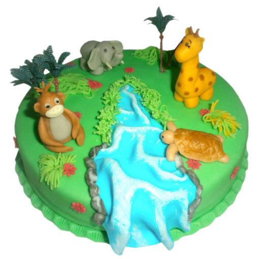 Dětský dort Safari - dětské dorty Praha