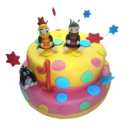 Dětský dort Včelí medvídci - dětské dorty Praha