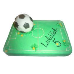 Narozeninový dort Fotbalové hřiště - narozeninové dorty Praha