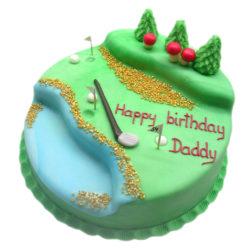 Narozeninový dort Golf - narozeninové dorty Praha