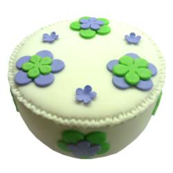 Narozeninový dort s květinami - narozeninové dorty Praha