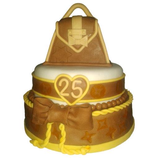 Narozeninový dort kabelka - narozeninové dorty Praha