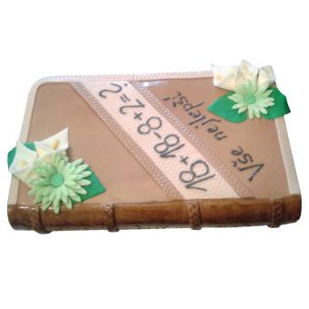 Narozeninový dort kniha - narozeninové dorty Praha