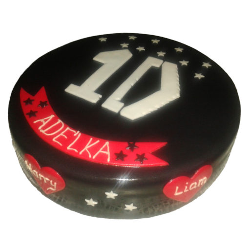 Narozeninový dort One Direction - narozeninové dorty Praha