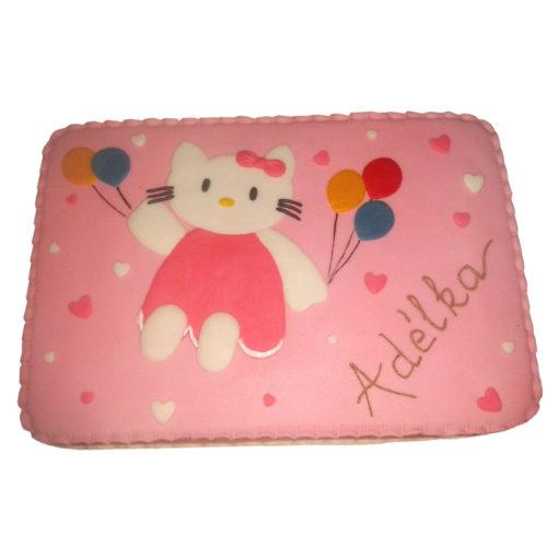 Dětský dort Hello Kitty