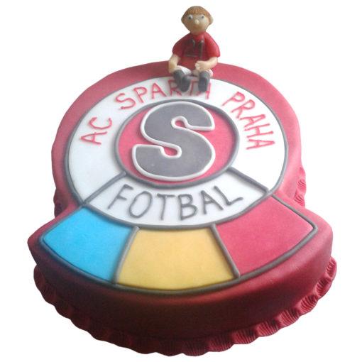 Narozeninový dort Sparta