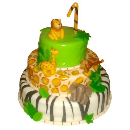 Dětský dort Safari