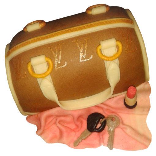 Narozeninový dort kabelka