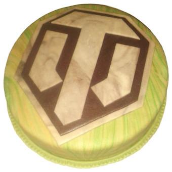 Narozeninový dort World of tanks