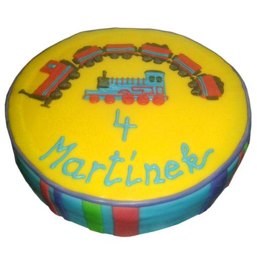 Dětský dort Mašinka