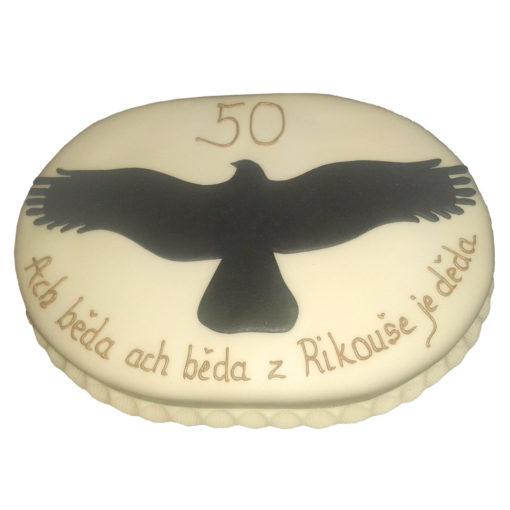 Narozeninový dort 50