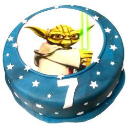 Dětský dort mistr Yoda