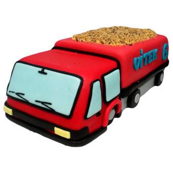 Dětský dort nákladní auto