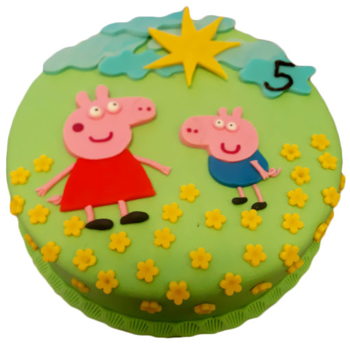 Dětský dort Prasátko Pepa
