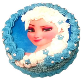 Dětský dort princezna Elsa