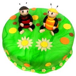 Détský dort Včelí medvídci