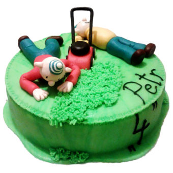 Narozeninový dort Pat a Mat
