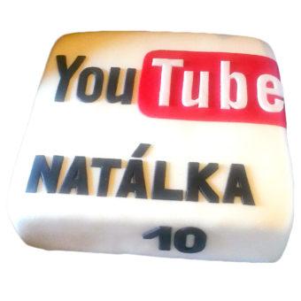 Narozeninový dort YouTube