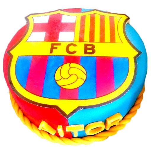 Narozeninový dort FC Barcelona