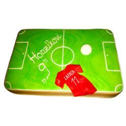 Narozeninový dort fotbalové hřiště