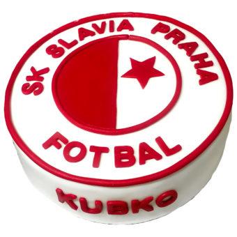 Narozeninový dort SK Slavia Praha