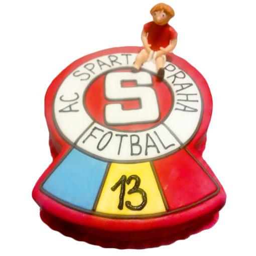 Narozeninový dort AC Sparta Praha