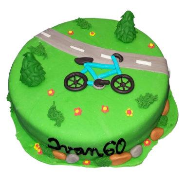 Cyklistický dort