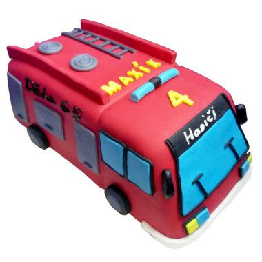 detsky-dort-hasicske-auto