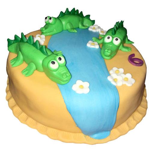 Krokodílí dort