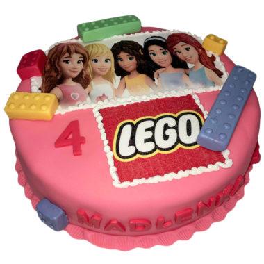 Lego frends dort s obrázkem na jedlém papíře