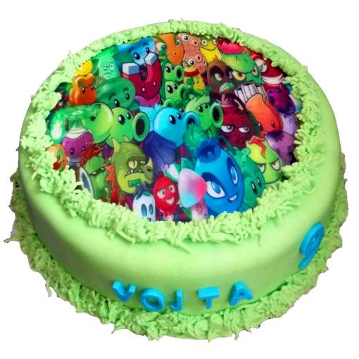 YO dort s obrázkem na jedlém papíře