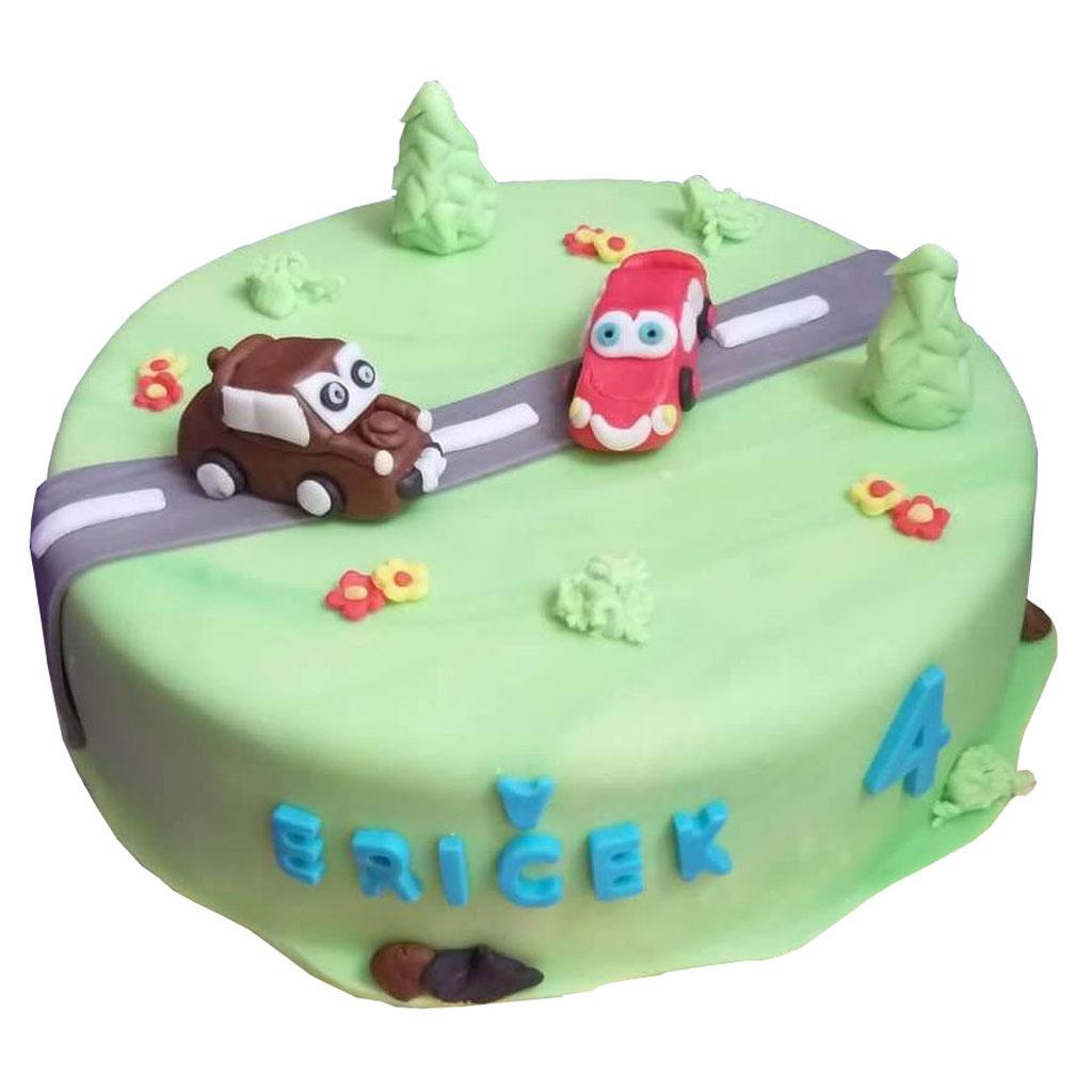Cars dort s malými autíčky