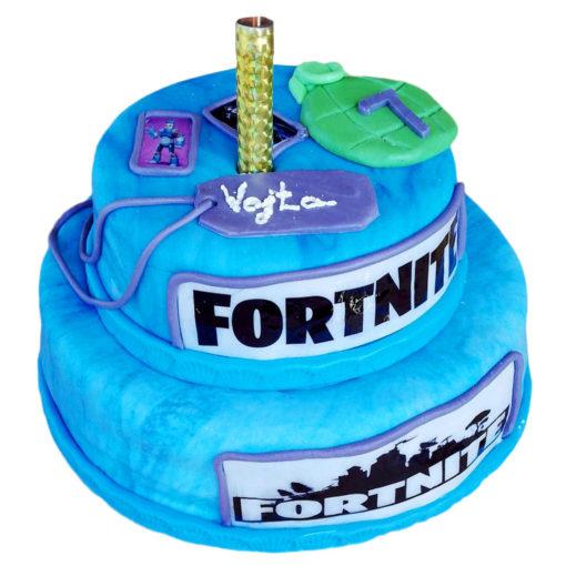 Narozeninový dort Fortnite